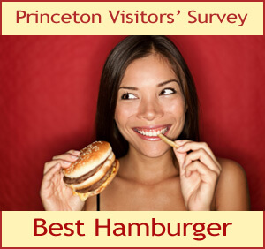 Best Hamburger in Princeton Survey