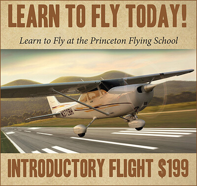 Learn to Fly Today at Princeton Flying School