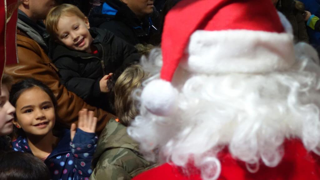 Santa fly into the Princeton Airport